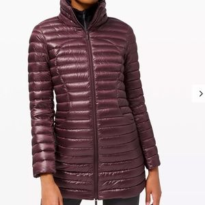 NWT $248 Pack It Down Long Jacket Shine